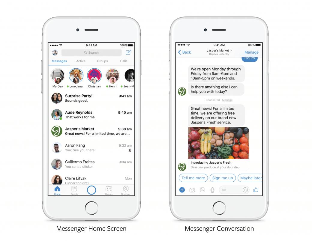 Comment utiliser la messagerie de Facebook quand on est une marque?