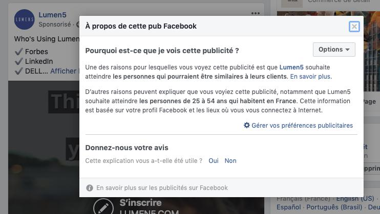 Comment fonctionne Facebook Ads ?