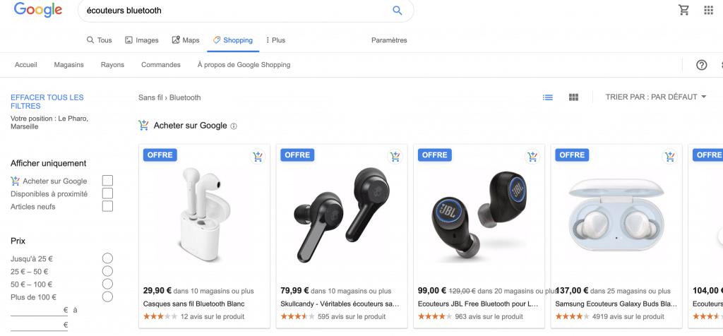 Comment faire sa pub sur un moteur de recherche ?